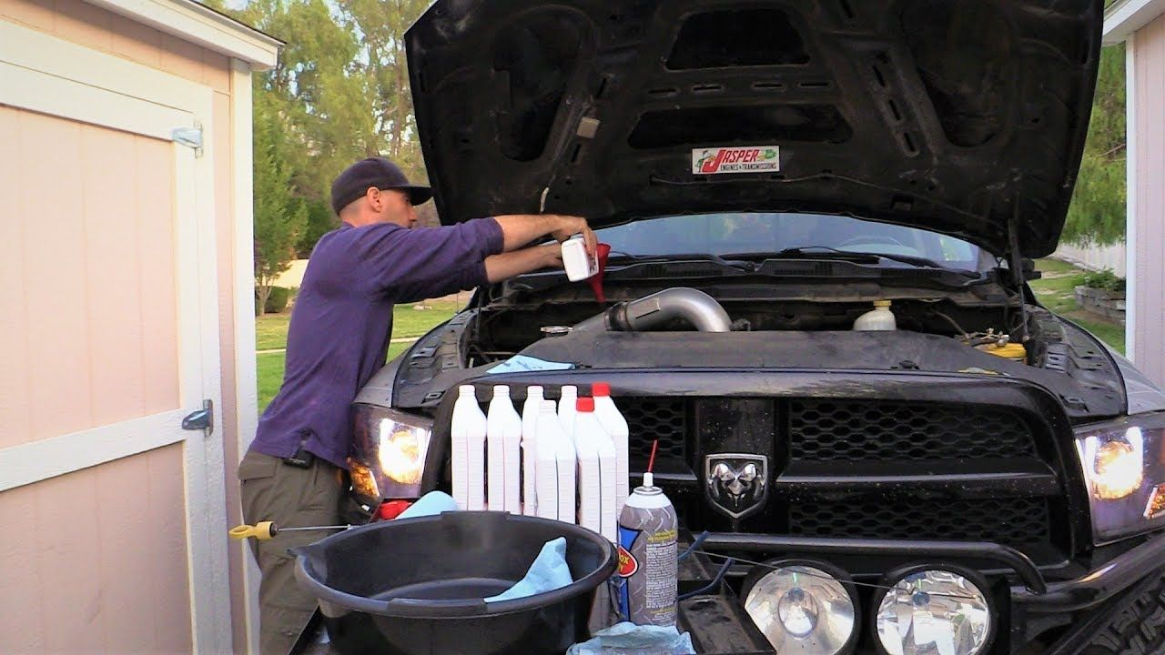 Do It Yourself Transmission Fluid and Filter Change in the