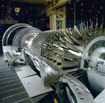 GE gas turbine parts, | Gas Turbines | Gas turbine, Jet engine