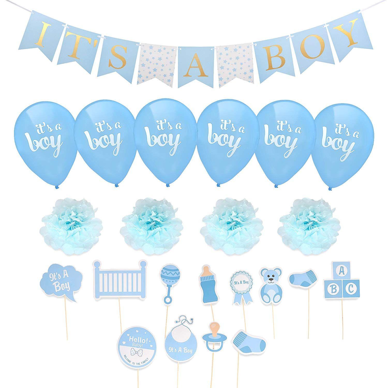 68 Off Boy Baby Shower Decorations Dengan Gambar