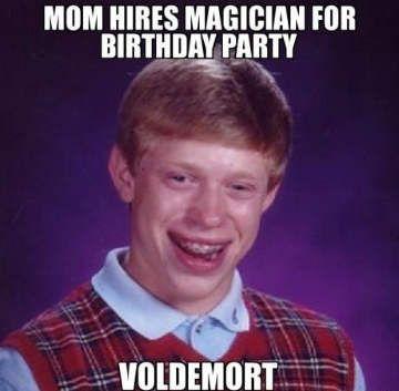 1f8974a8235f342c50cb133a54424657 hires magician funny happy birthday meme cass pinterest