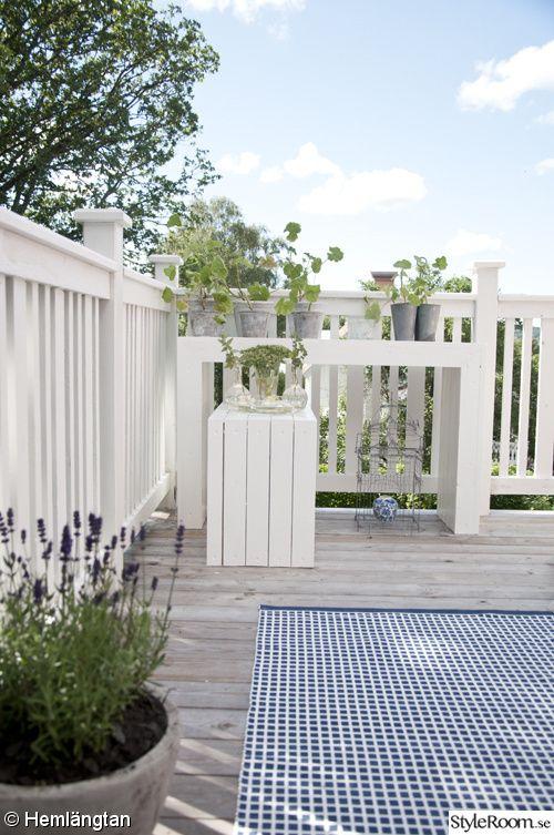 Uteplats uteplats entre : altan,balkong räcke | Patio | Pinterest | Natural, Railings and Floors