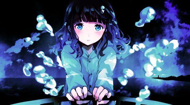 Anime Sad Girl Anime Wallpaper In 2018 Pinterest Anime Anime
