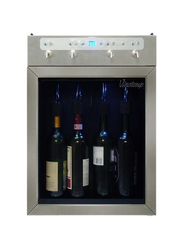 4 Bottle Single Zone Built In Wine Refrigerator Wine