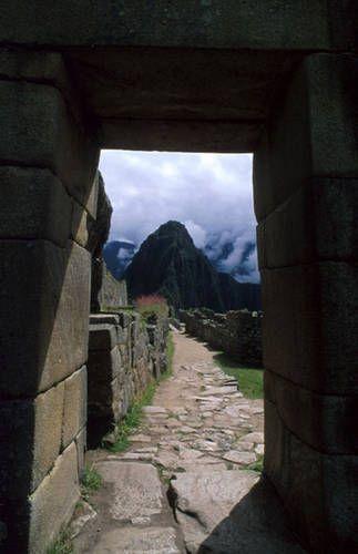 Intipunku Machu Picchu.  The Sun Gate.