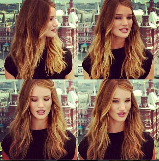 Rosie = perfection. Hair color!!!