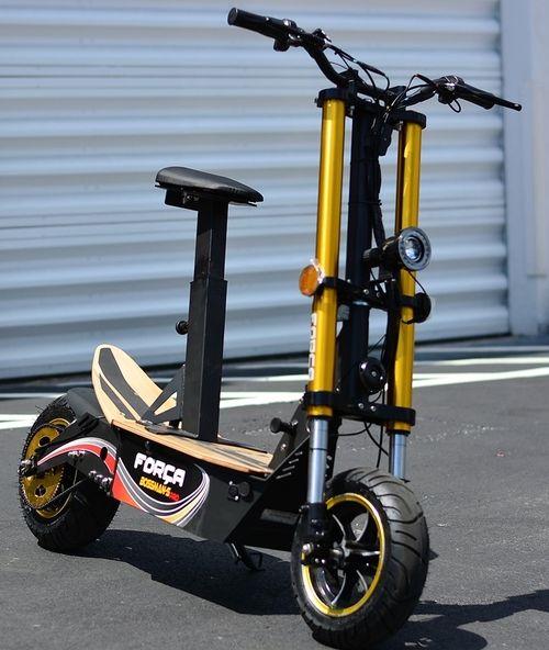 2017 bossman pro 2000w 48v electric scooter free. Black Bedroom Furniture Sets. Home Design Ideas
