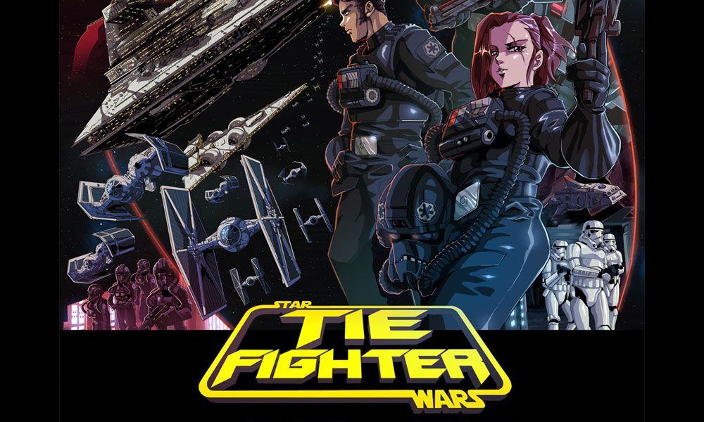 'TIE Fighter' Is 'Star Wars' Short Film In '80s Anime