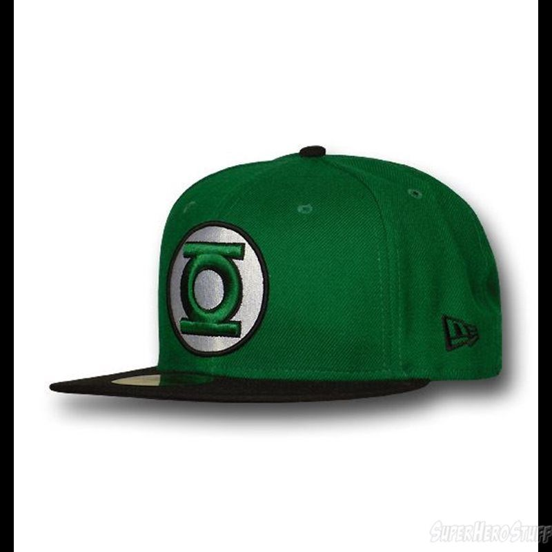 9c3bd5e7eaaccc Green Lantern Hal Jordan 59Fifty Fitted Hat | Future Gift Ideas ...