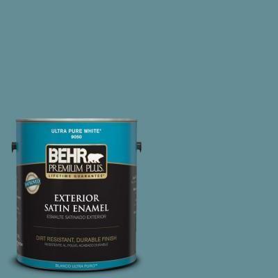 Visit The Home Depot To Buy BEHR Premium Plus Home Decorators Collection  Island Oasis Satin Enamel Exterior Paint 940001