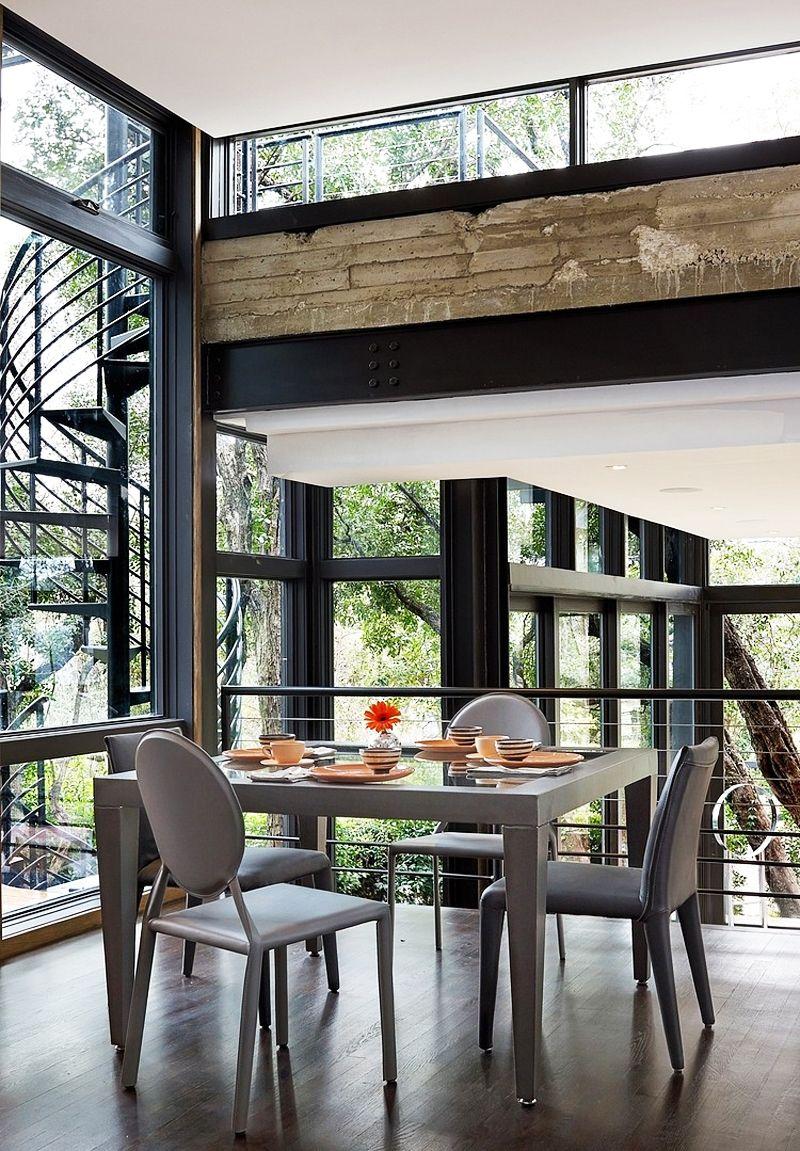 Modern Single-family Residence by John Grable Architects / San Antonio, Texas, USA