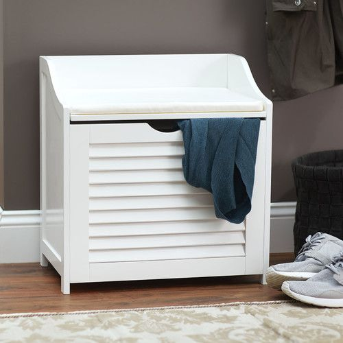 Found it at Wayfair - Single Load Hamper Cabinet Seat