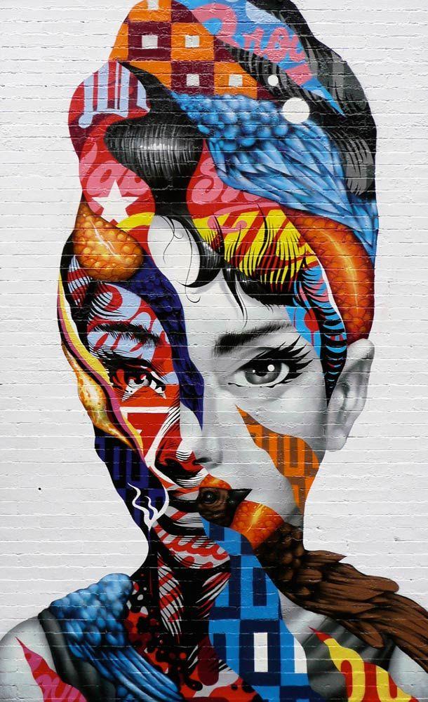 Une sélection des peintures et créations street art de l'artiste et designer américain Tristan Eaton, basé à Los Angeles, qui nous offre des créations ex