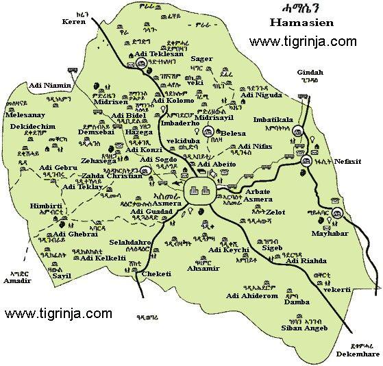 Hamasien is central #Eritrea through #NorthAsmara