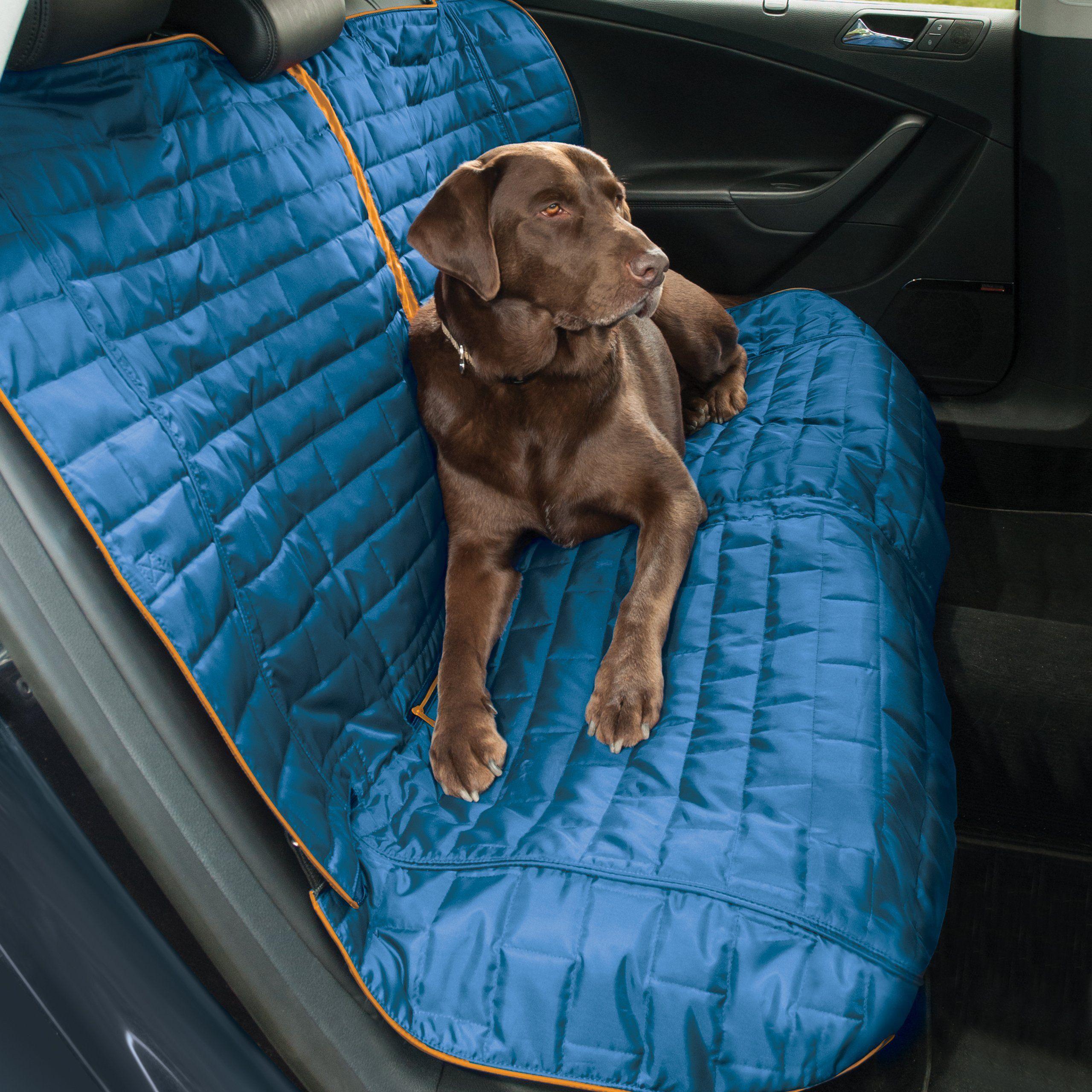 Kurgo Loft Bench Seat Cover For Dogs Lifetime Warranty Blue