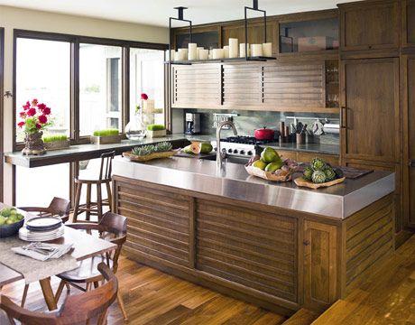 Japanese Style Kitchen designer kitchens | zen kitchen, green marble and traditional japanese