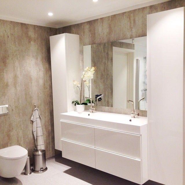 ikea #ikeabaderom #baderomsinnredning #godmorgon #dobbelvask - ikea meuble salle de bain godmorgon