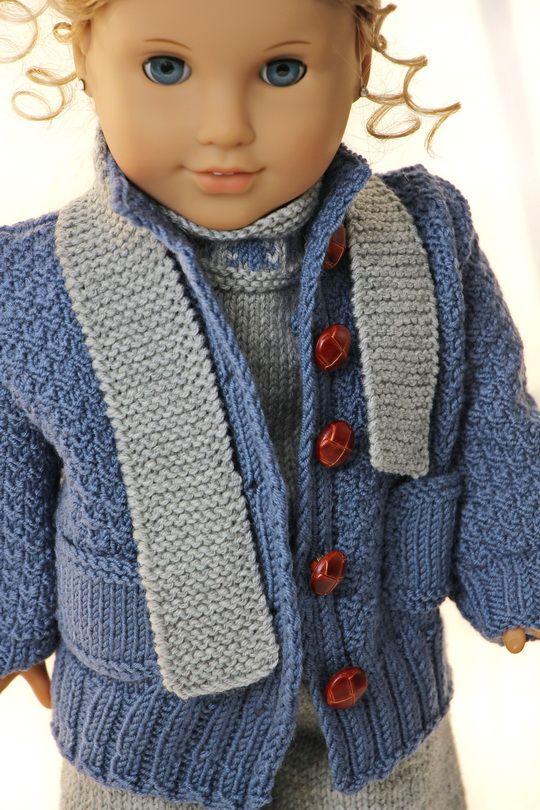 Tricoter des vêtements pour poupée | loisir créatifi | Pinterest