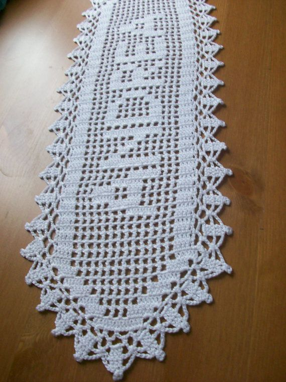 Personalized doily Crocheted Name Doillygift by MyDreamCrochets ...