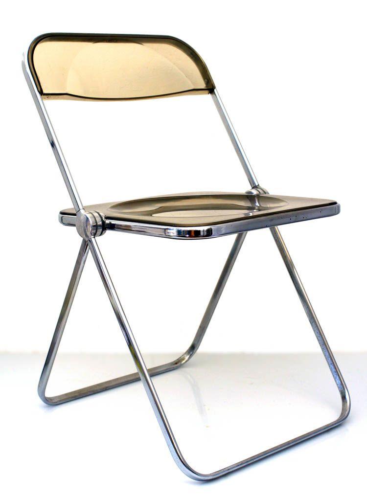 Giancario Piretti Castelli Plia Chair In 2020 Chair Cheap Folding Chairs Folding Chair