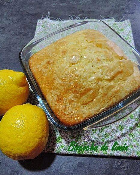 Bizcocho de limón