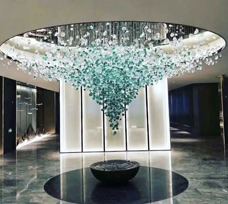 Source Custom Made Modern Luxury Colorized Jewel Stone Crystal