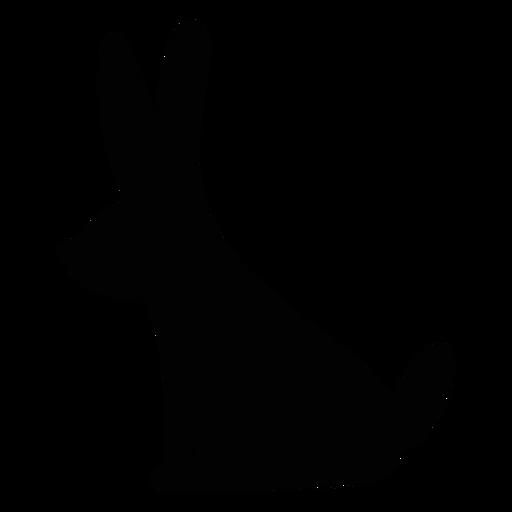 Rabbit Folk Art Silhouette Ad Paid Affiliate Folk Art Silhouette Rabbit Folk Art Art Silhouette