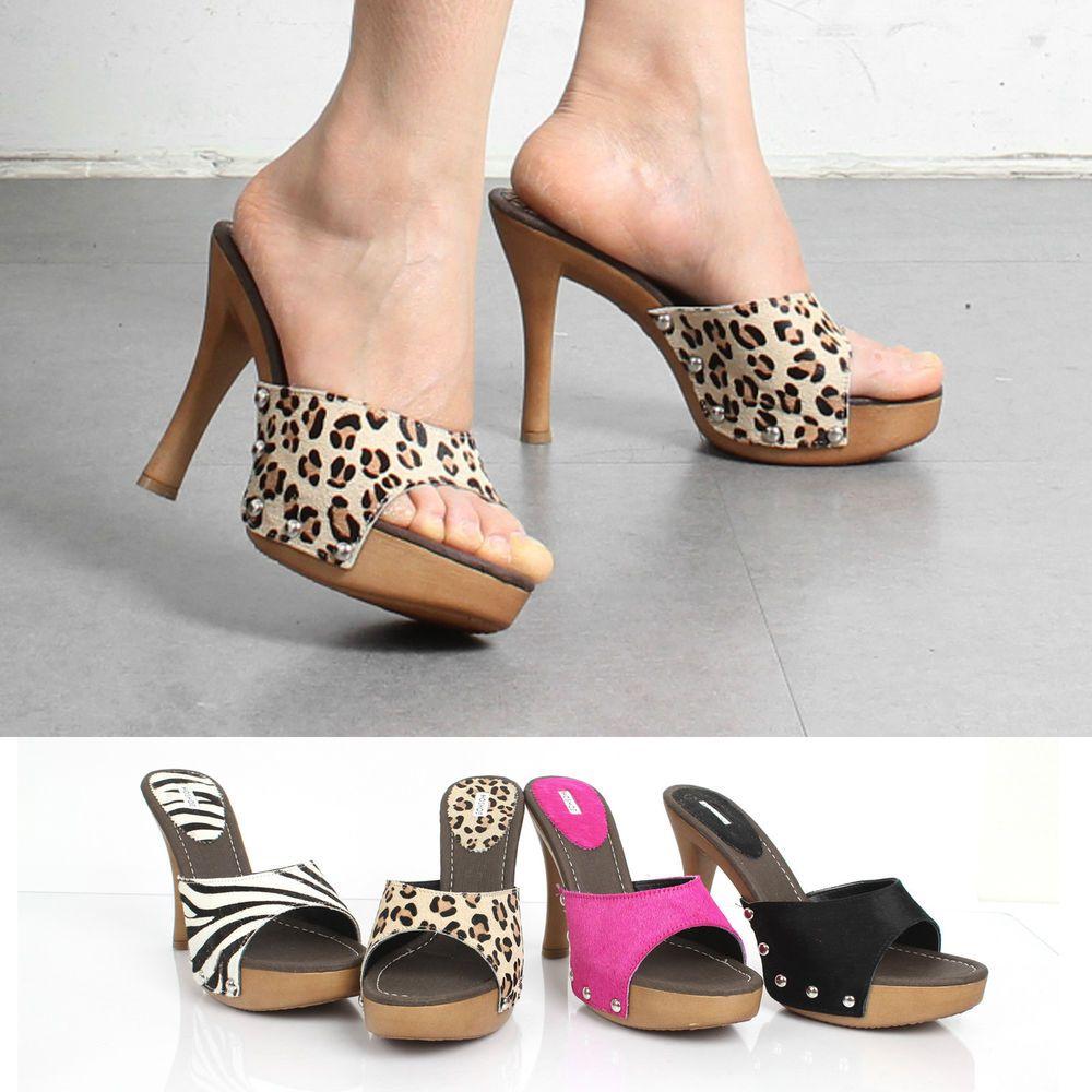 hs 1497 platform high heels mule sandals in