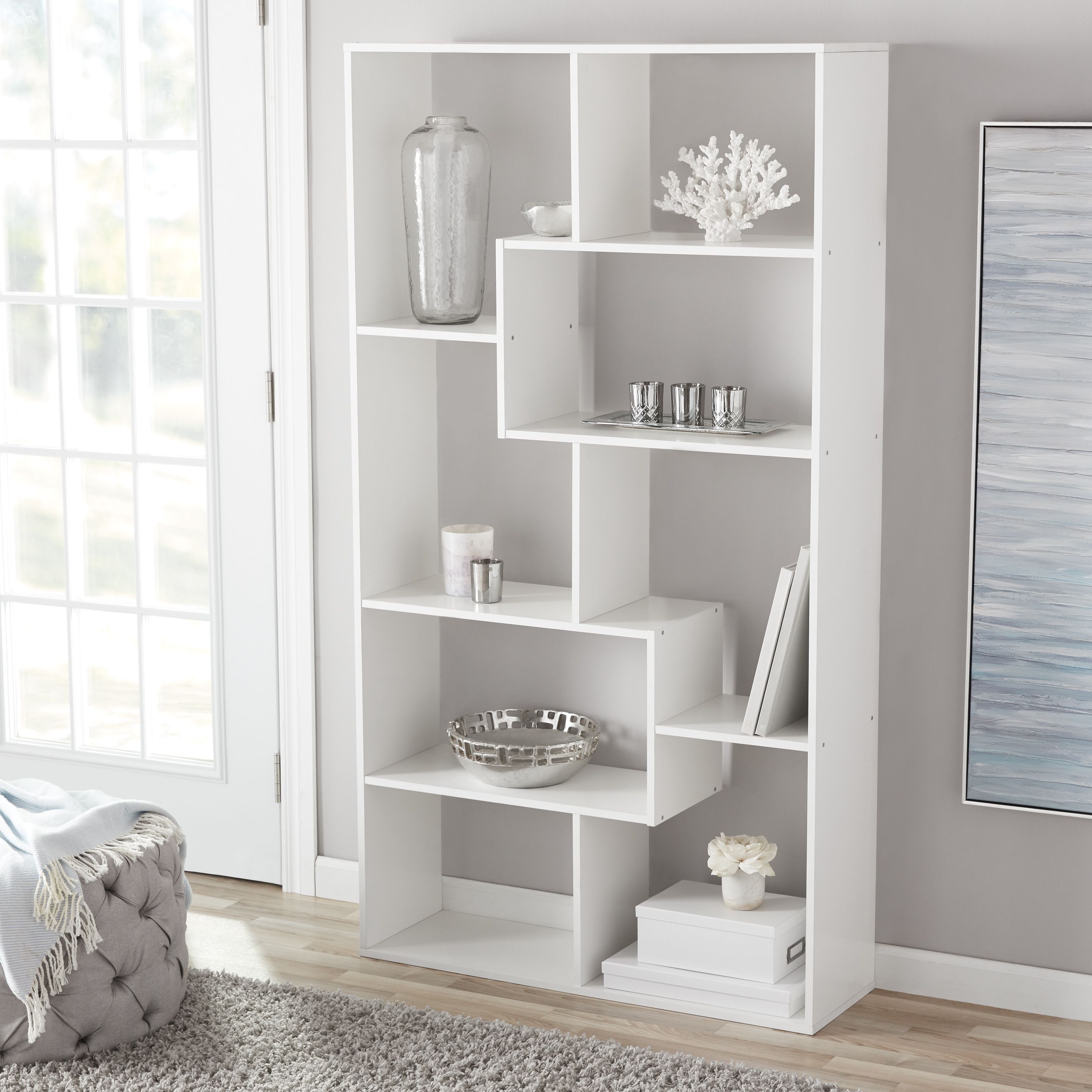 Home With Images Cube Bookcase Open Bookshelves Storage