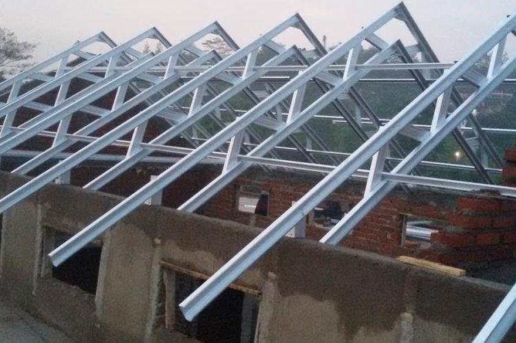baja ringan banjarmasin perusahaan advertising reklame roof design house