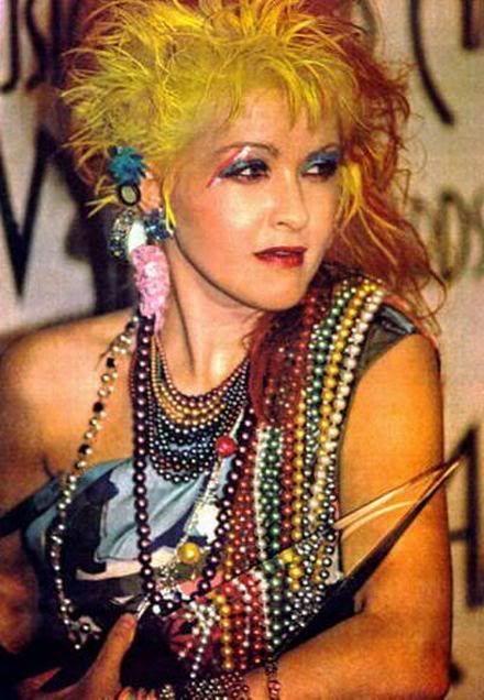 80s cindi lauper makeup cyndi