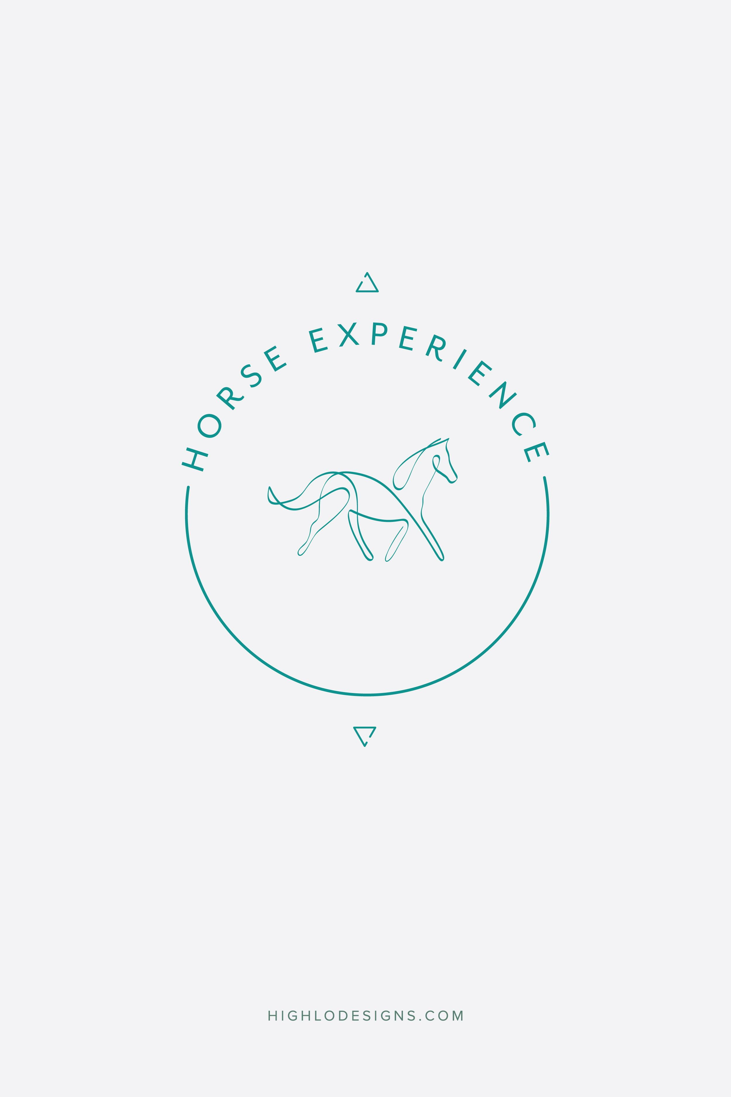 Logo Mark For Park City Horse Experience Designed By Highlo Designs All These Elements Come Together For A Mark Full Of Symboli Isotipos Ciudades Tipografia