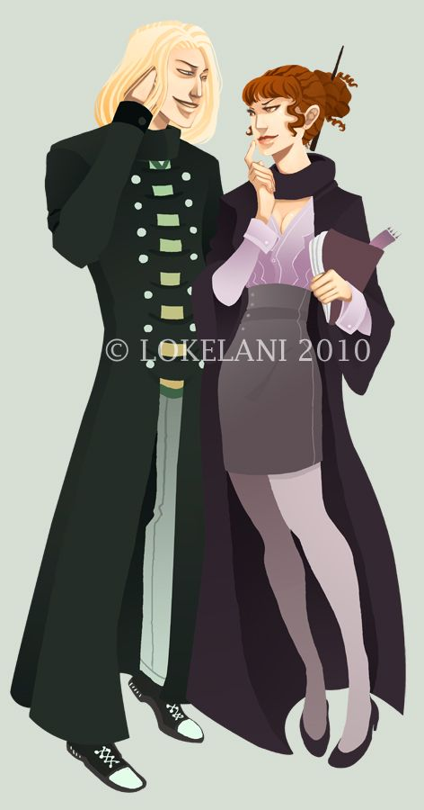 Draco Hermione - Commission by lokelani.deviantart.com on @DeviantArt