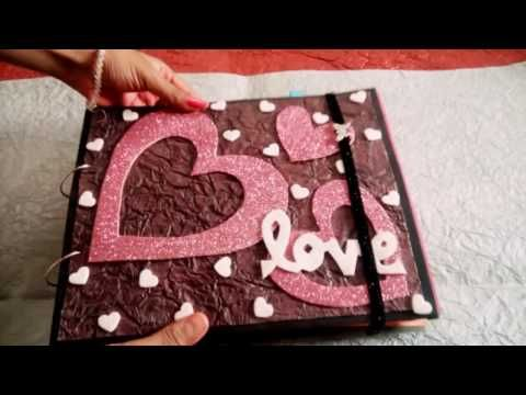 Scrapbook Tutorialhow To Make Scrapbookdiy Scrapbook Tutorial