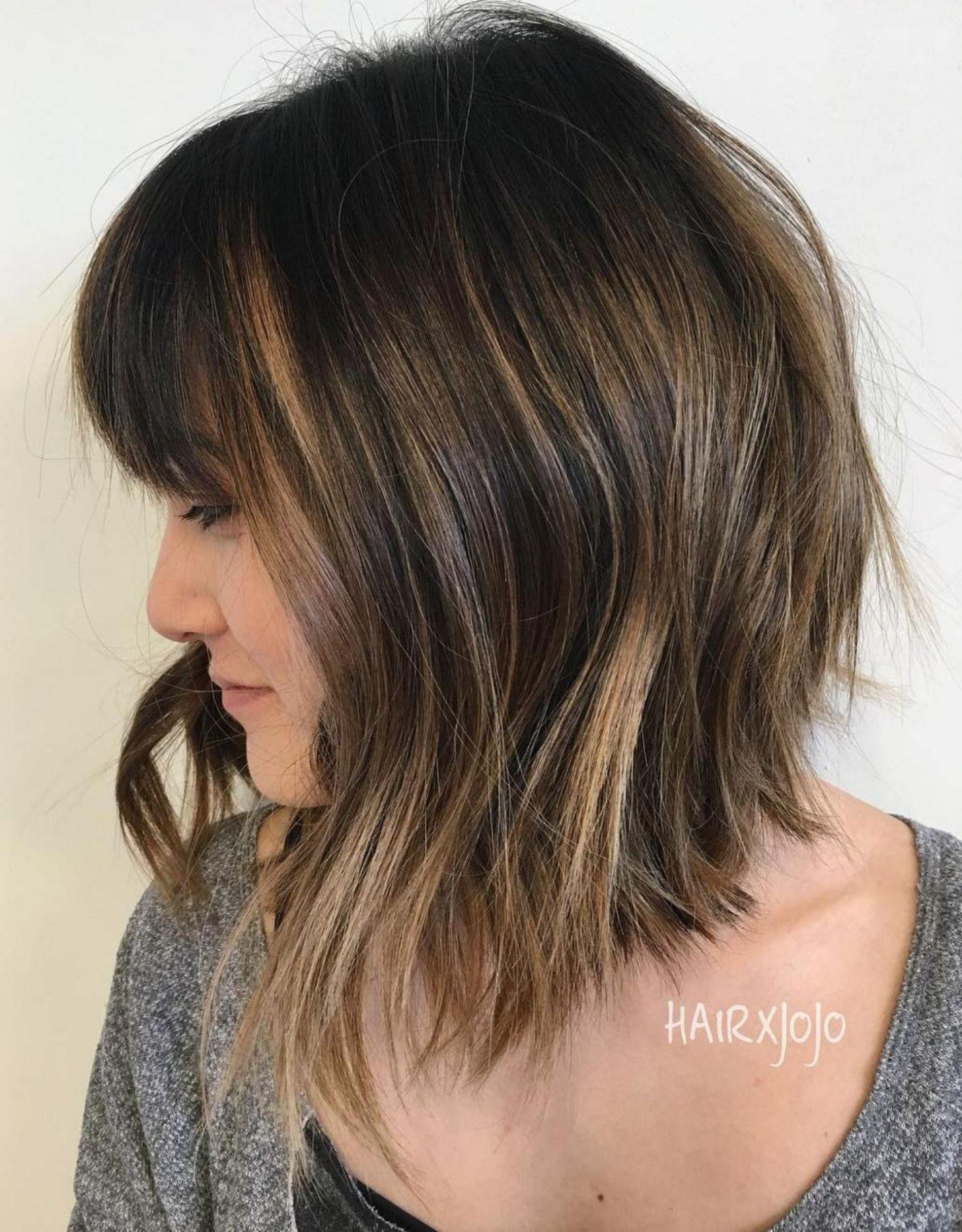 50++ Long choppy bob hairstyles trends