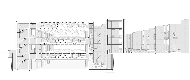 salk institute for biological studies architecture louis kahn salk institute plan salk institute floor plan