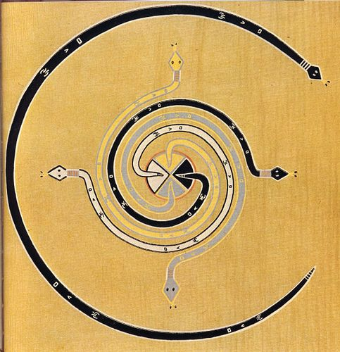 Native American Ouroboros The Cosmic Spiral Sacred Geometry