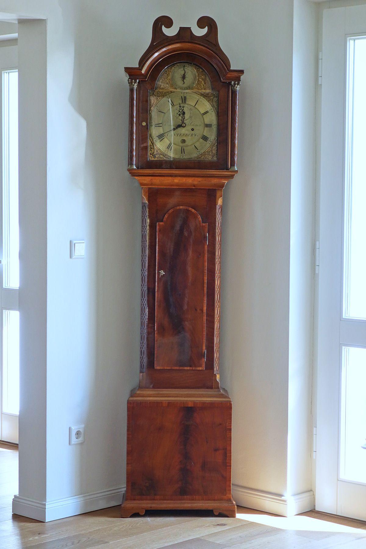 Antike Englische Standuhr Standuhren Standuhr Antik Uhr