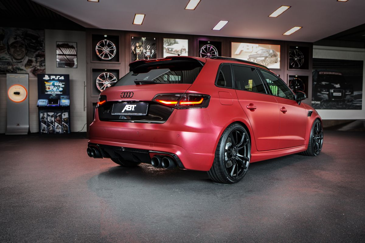 Abt sportsline goes individual with the rs3 450