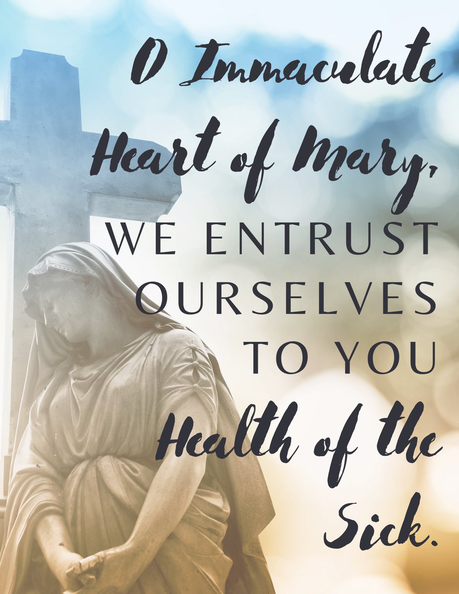 Free Printable Of A Short Prayer To The Immaculate Heart