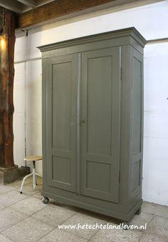 Woonkamer oude kast / Demontabel /1852 | wonen | Pinterest - Kast ...