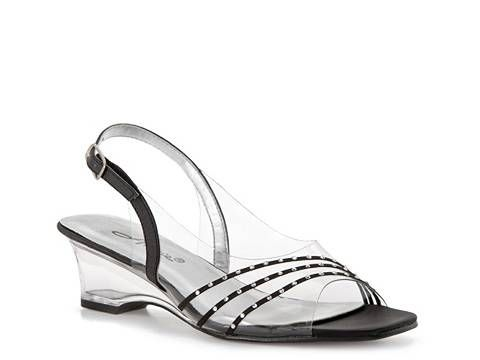Slingback Sandal Wide Width