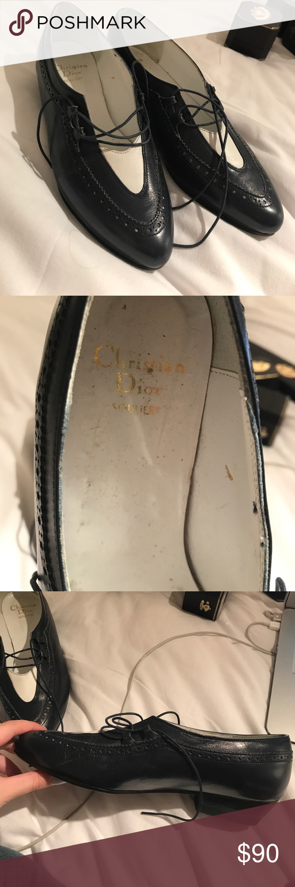 Vintage christian dior shoes drunk