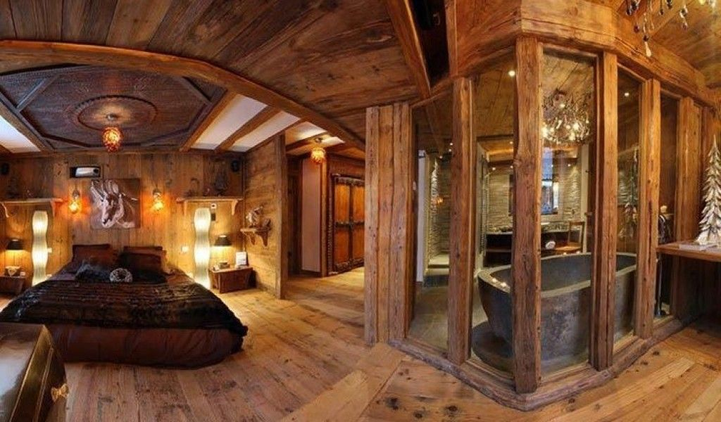 Wow Custom Epic Log Master Suite Rustic Retreats