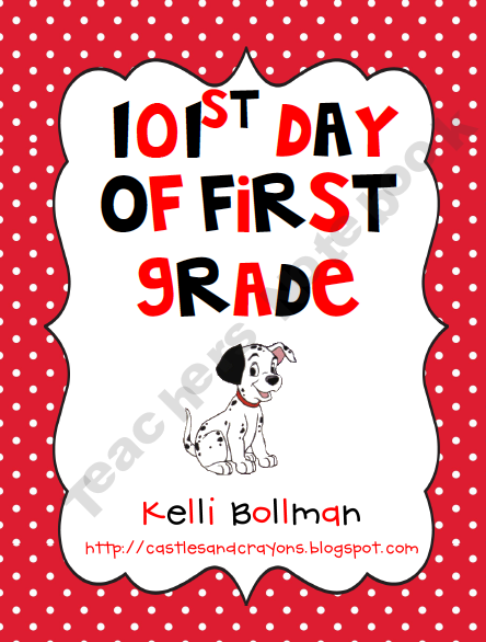 101st Day of First Grade Fun!