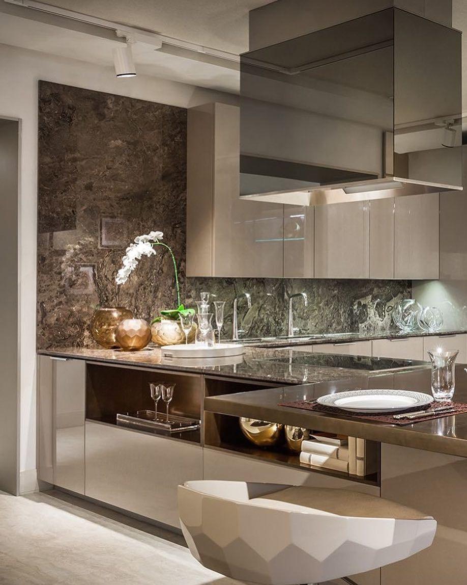 Uma Cozinha Que Um Luxo Digna De Estar Dentro Da Sala Adorei A