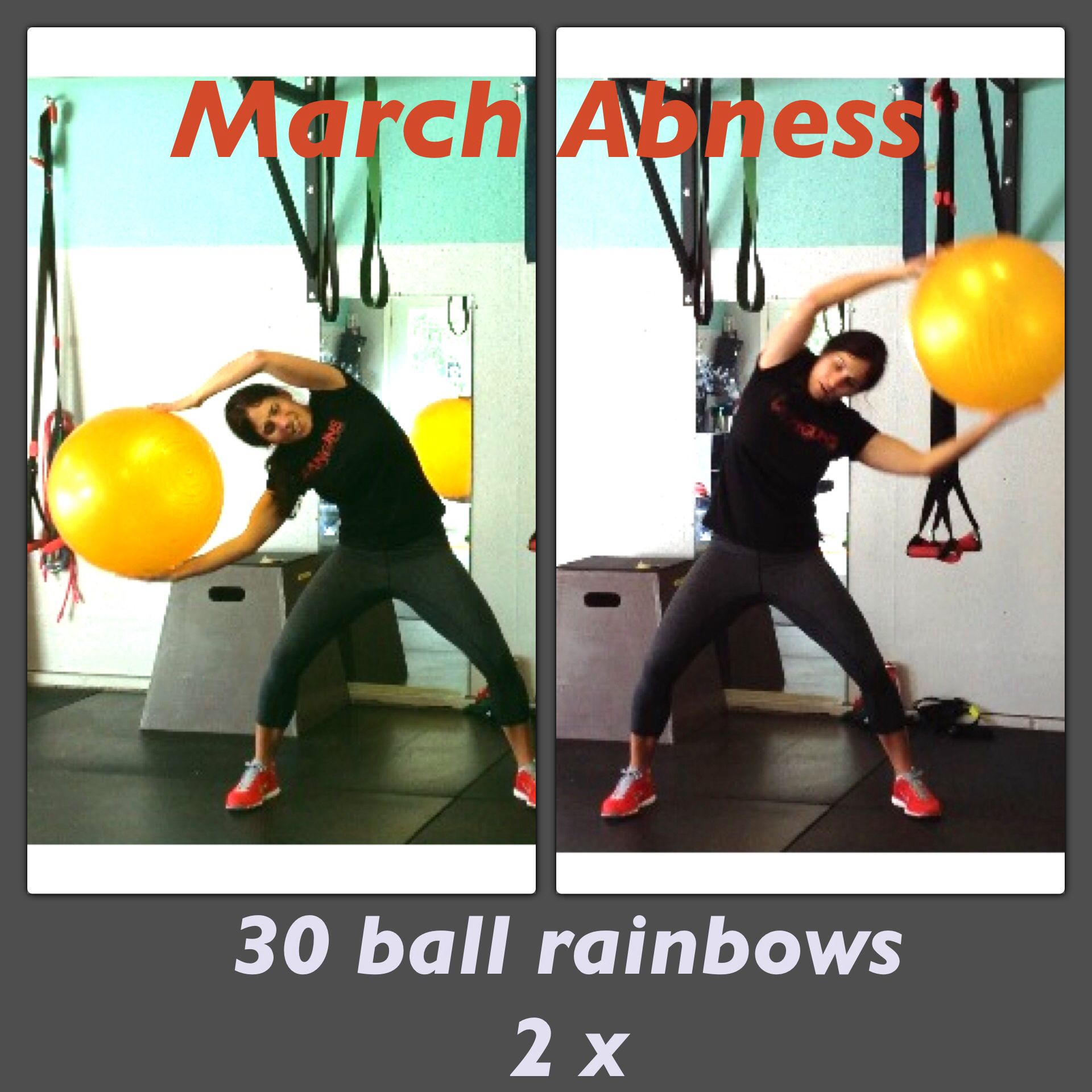March Abness : for all exercises go to www.leanguns.com
