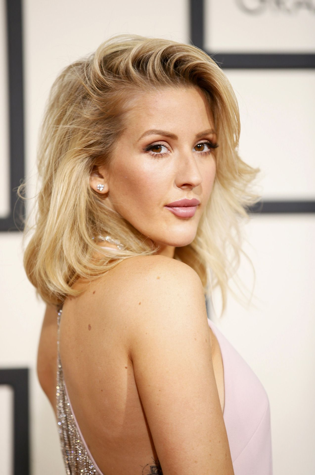 Ellie Goulding Attends The 58th Grammy Awards At Staples