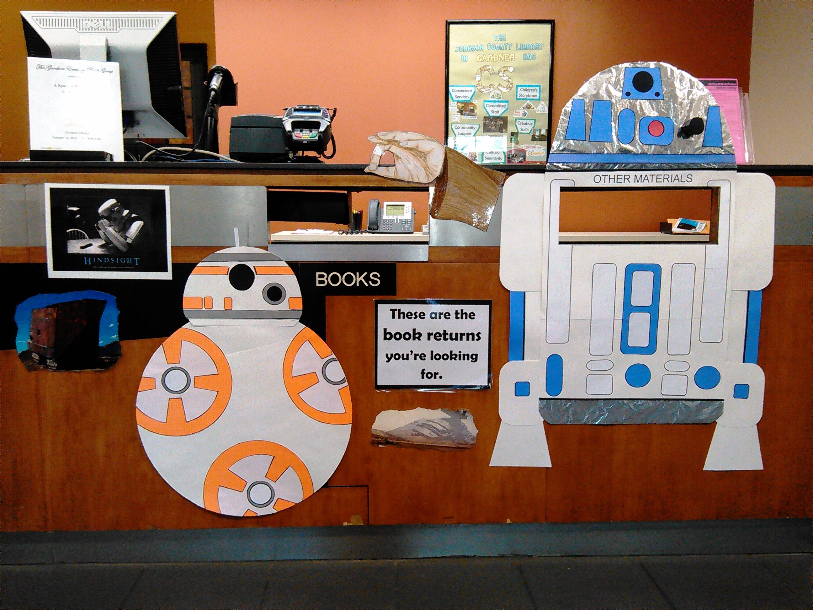 Classroom Decor Stars : Star wars bookdrop at gardner fandom pinterest