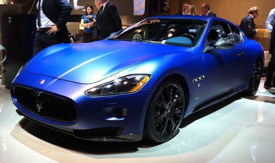 Maserati granturismo blue satin paint nice feel