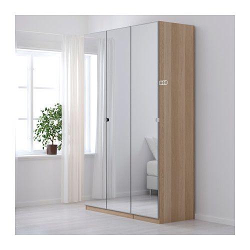 Mirror Door Ikea Pax Wardrobe, Ikea Pax Vikedal Mirrored Wardrobe Doors